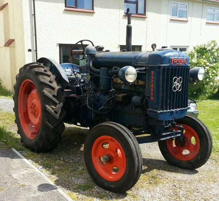 fordson major e27n p6 ebay ford traktor pinterest tractor vintage tractors and ford. Black Bedroom Furniture Sets. Home Design Ideas