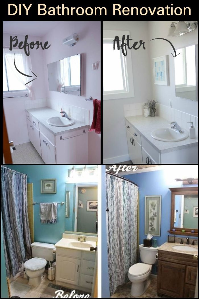 Diy Bathroom Renovation Bathroom Renovation Renovations Diy