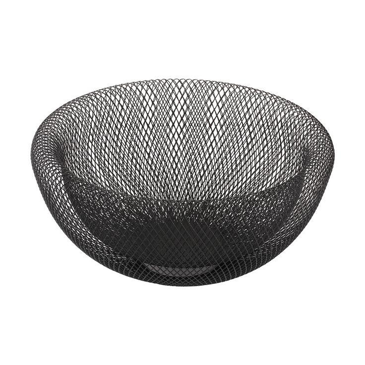 Mesh Bowl - Black | Kmart