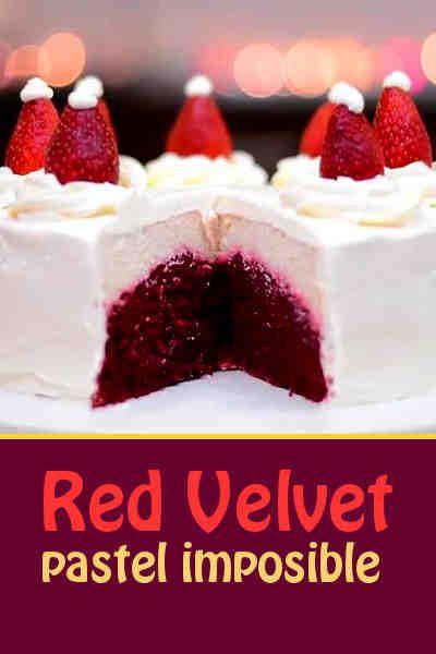 Pastel imposible Red Velvet