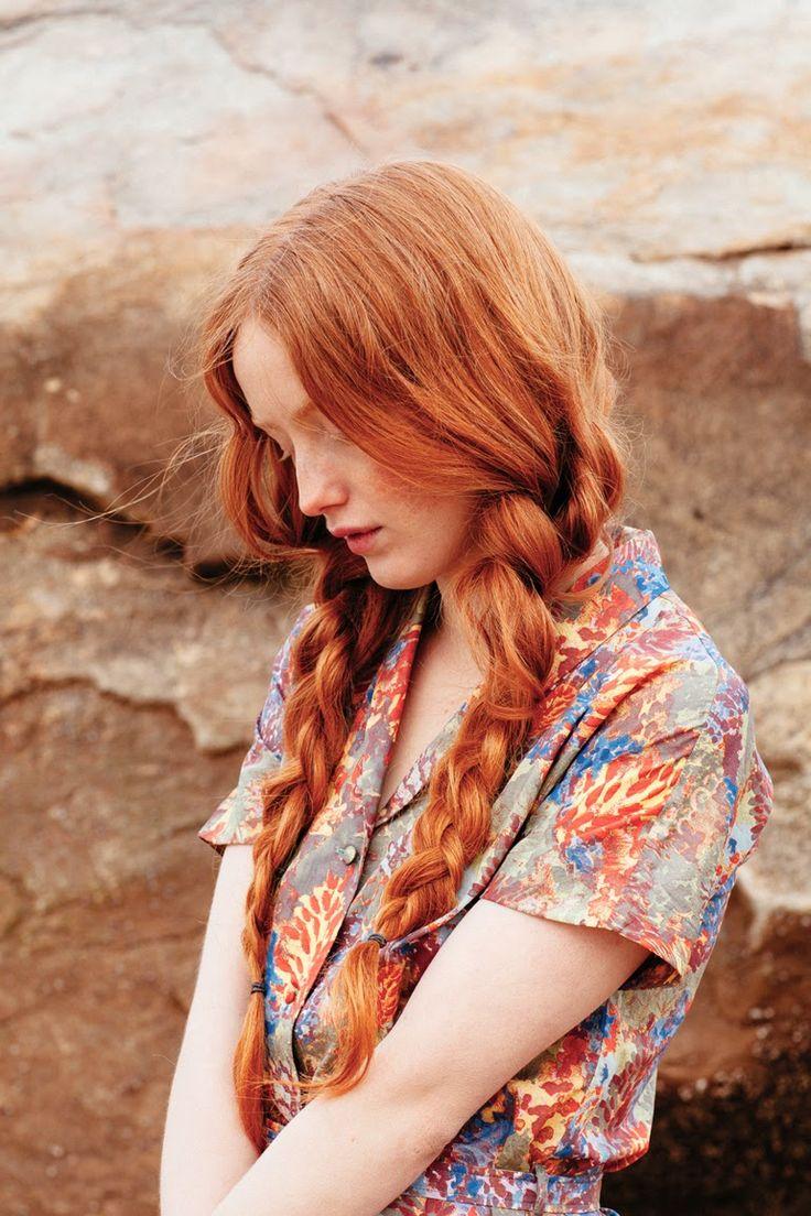Nadinoo: Amber Mahoney for Betty Magazine