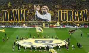 Klopp to face Dortmund in UEL qf.