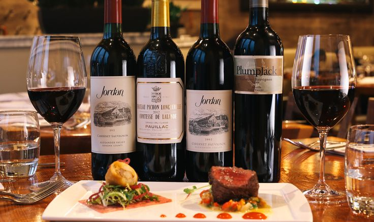 Tips for finding the best cabernet sauvignon pairing for your favorite cut of steak with a food and wine guide from the chef at Jordan Winery.