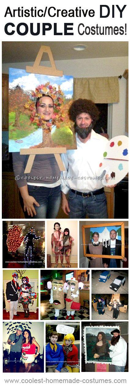 Top 10 Creative Homemade Halloween Costume Ideas for Couples