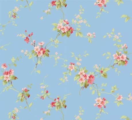 vintage style wallpaper for a 40s 50s or 60s bedroom Renovation