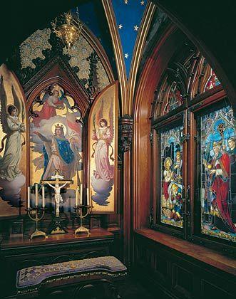 Neuschwanstein Castle Interior | ... Schlösserverwaltung | Neuschwanstein | Tour of the castle | Oratory