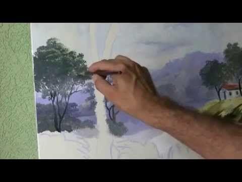 Vídeo aula paisagem