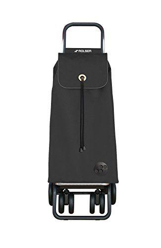 Rolser IMX006 Einkaufsroller Logic Tour, I-MAX, 43 L, 39,5 x 32,5 x 105,5 cm, marengo