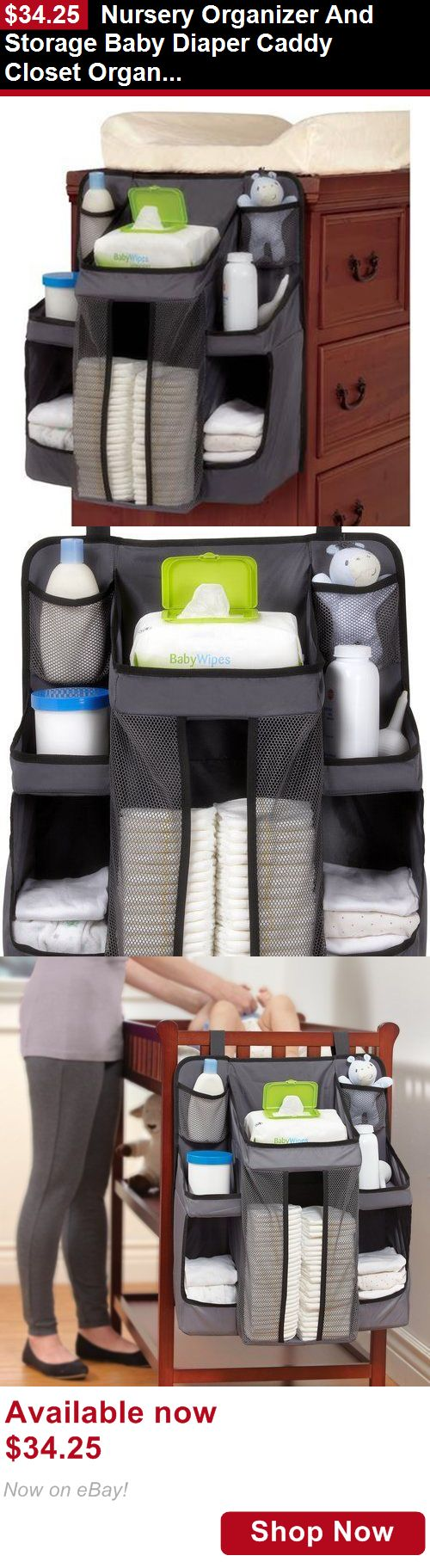 Baby Boxes And Storage: Nursery Organizer And Storage Baby Diaper Caddy Closet Organization System BUY IT NOW ONLY: $34.25