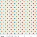 Fox Trail multi dots in cream - Marie Bobine's