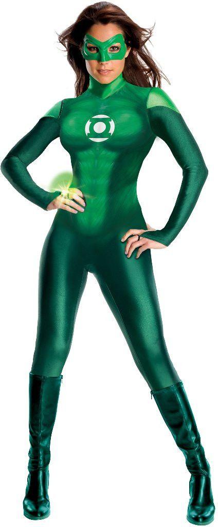green lantern movie - green lantern uniform adult costume | (x-small)
