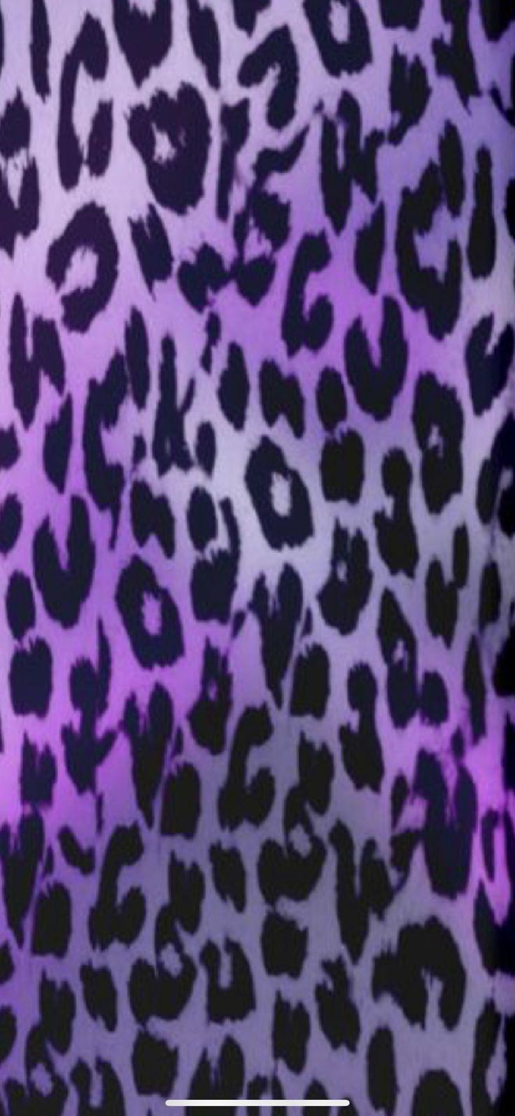 Pin by K€NDR on Leopard background Purple wallpaper