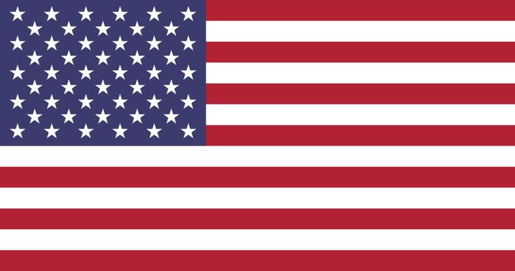 Flag of the United States - July 4, 1960