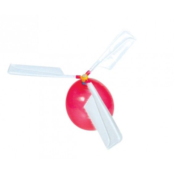 Goki - Balloon Helicopter - How cool is this! And how simple. :-) #Entropywishlist #pintowin