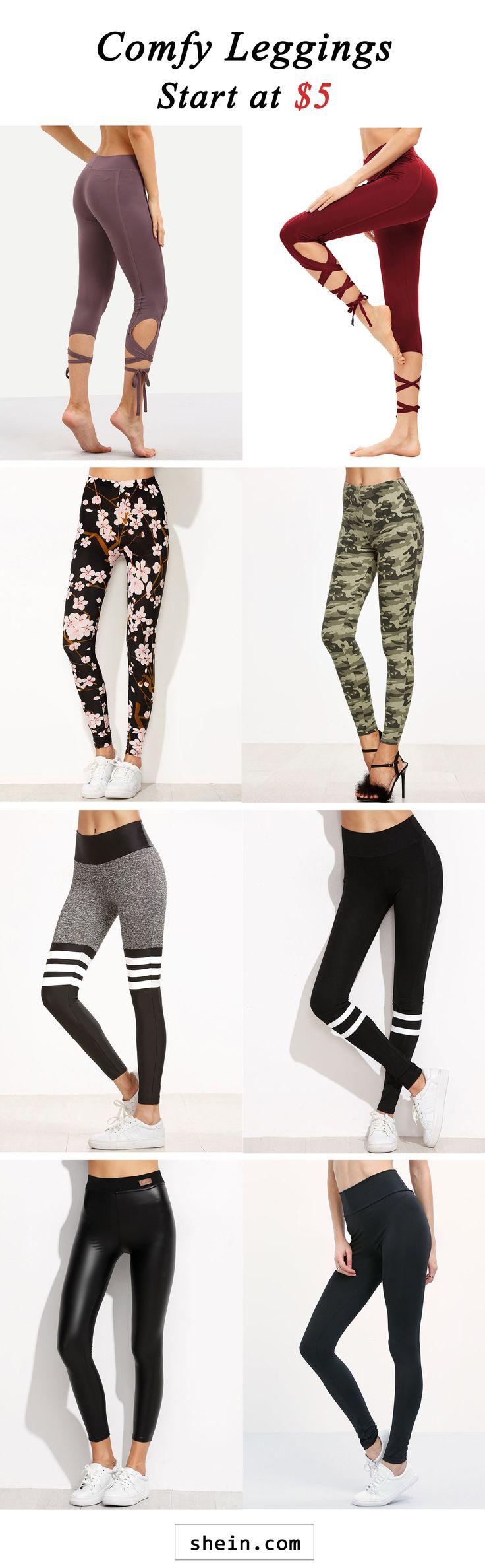Comfy leggings start at $5