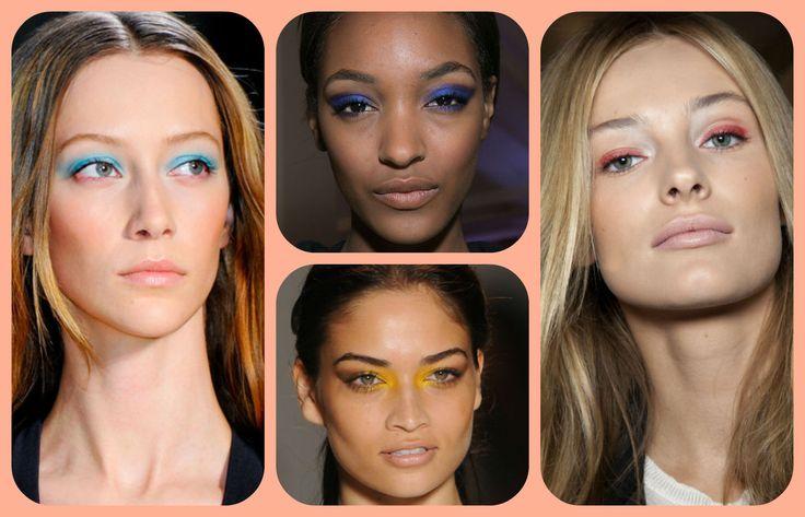 Reguli de baza pentru un #machiaj colorat. #makeup #trends #tendinte #frumusete #cosmetice