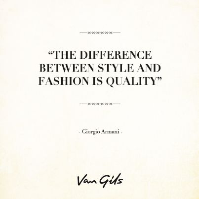 Famous Quote From Giorgio Armani Fashion And Style Quotes For The Modern Gentleman