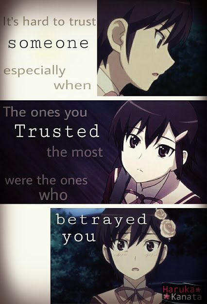 Image result for anime quotes about betrayal