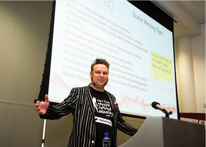 Eircom Spiders Digital Workshop - Guest Speaker Greg Fry https://www.madinks.ie
