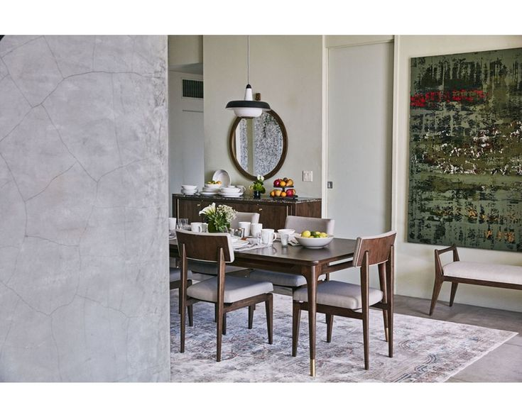 Efficient And Easy On The Eye Describe Mid Century Walnut ED Ellen DeGeneres By Side ChairsDining RoomsDining