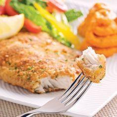 Filets de poisson en croûte citronnée - Recettes - Cuisine et nutrition - Pratico Pratique