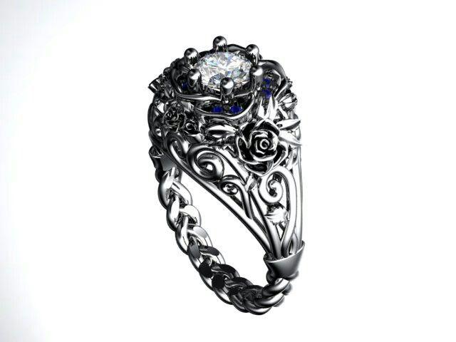 Own design rose ring