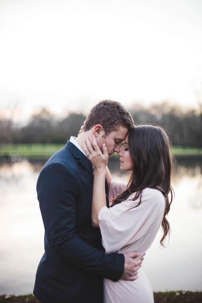 romantic, dreamy, european, elegant, engagement photos