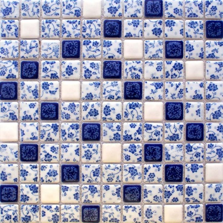 Bathroom Tiles Blue And White 463 best colour - blue tiles images on pinterest | blue tiles