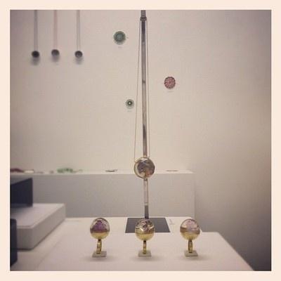 'Lucy In The Sky Locket' and 'A Meteorite Surprise' rings @ Blood, Sweat + Tears, Bank Street Arts, Sheffield.