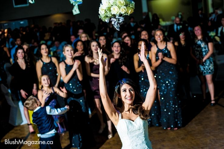 Big Fat Greek Italian Wedding Winter Bouquet Toss Traditions