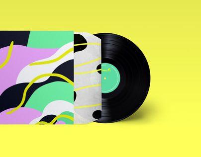 """CD cover @Behance portfolio: """"Flo.M"""" http://on.be.net/NXXetl"""