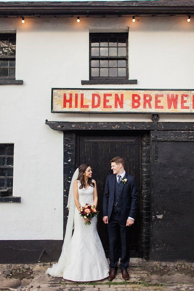 Hilden Brewery Wedding  | onefabday.com