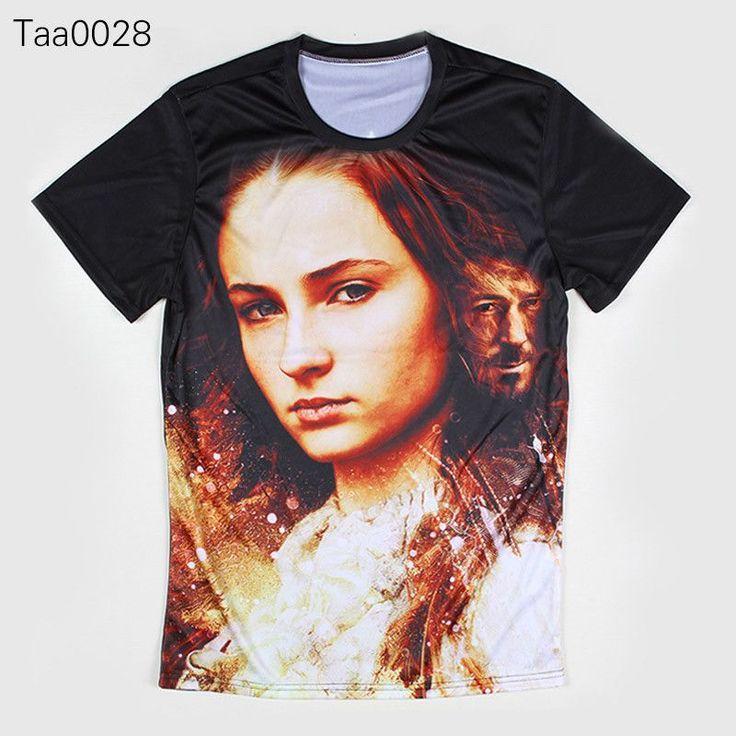 Game Of Thrones Sansa Stark Allover 3D Print Tshirt