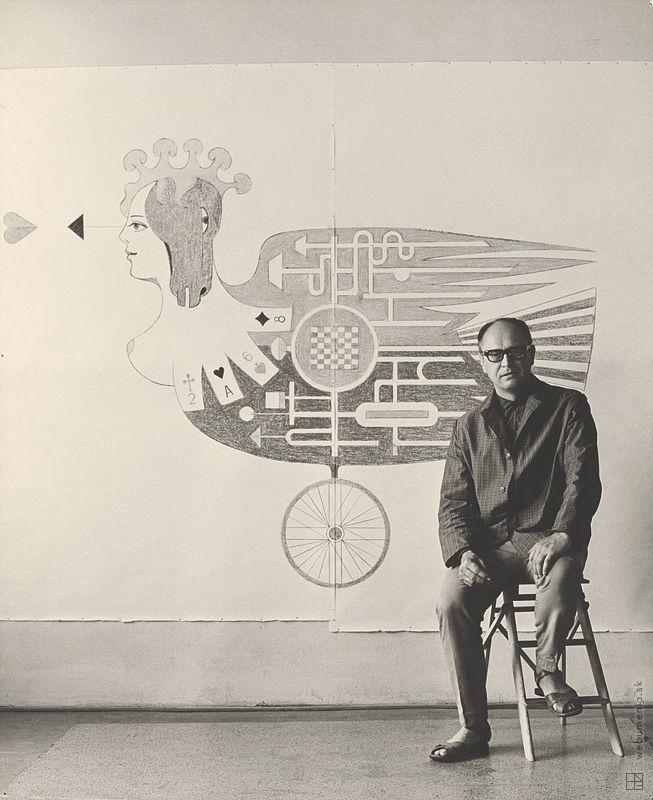Magdaléna Robinsonová: Ladislav Guderna. Portrét:1970