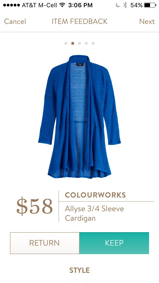 Colourworks Allyse Cardigan. This is SO cute! Want to try Stitch Fix? Sign up here....https://www.stitchfix.com/referral/5198264