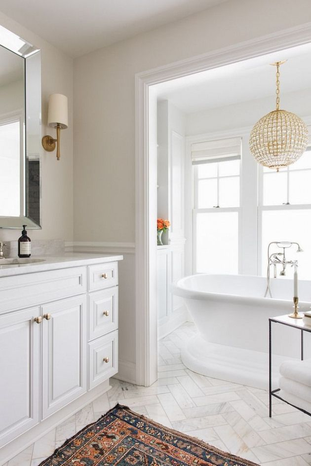Classic Gray By Benjamin Moore Neutral Bathroom Paint Color Classic Gray By Benjamin Moore Classic Gray By Benjamin Moore Classicgraybyben In 2020 Neutral Bathroom Neutral Bathroom Paint Bathroom Paint Colors