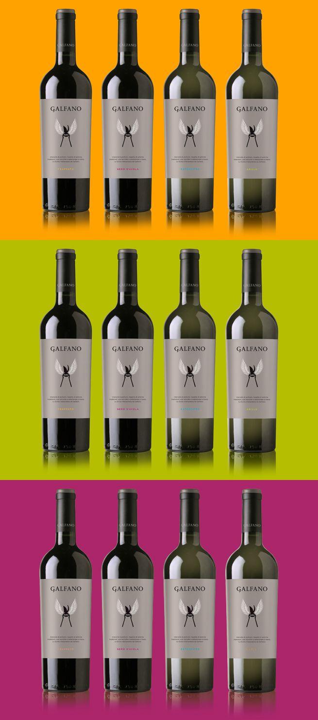 bottles colourful galfano