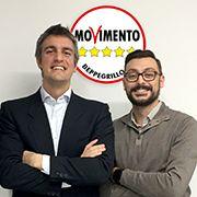 Candidato presidente del Veneto Jacopo Berti e Samuele Baietta candidato consigliere