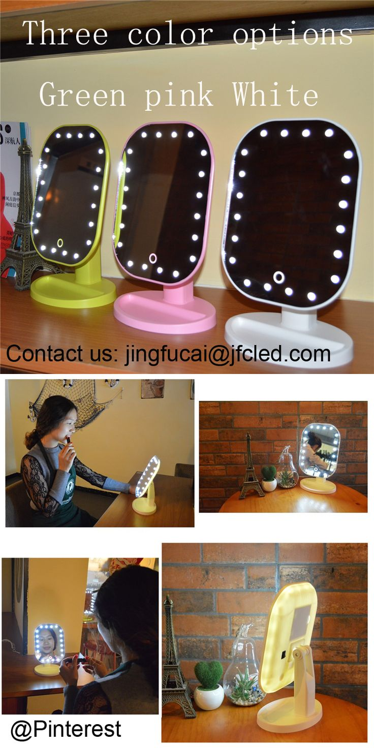 Impact lighting inc orlando florida - Fcled M002 Desk Type Makeup Mirror With Led Light Led Touch Screen Makeup Portable Mirror Adjuble Tabletop Lamp