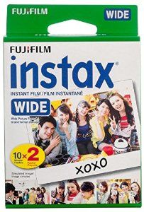 Amazon.com : Fujifilm Instax Wide Film Twin Pack (White) (New Packaging) : Camera & Photo