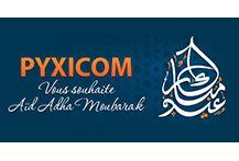 عيد مبارك سعيد، و كل عام و أنتم بألف خير Pyxicom vous souhaite Aid Mobarak :)
