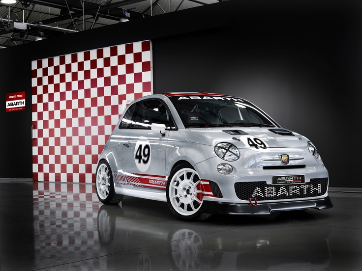 Fiat 500 Abarth they say : dynamite comes in small packages [so true]