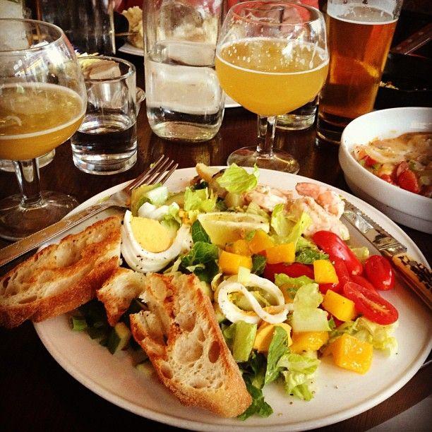 Founding Farmers' Shrimp Louie Cobb — Romaine Hearts, Avocado, Mango, Potatoes, Louie Dressing (Fan photo credit: @Natalie Jost Johnson) #Instagram