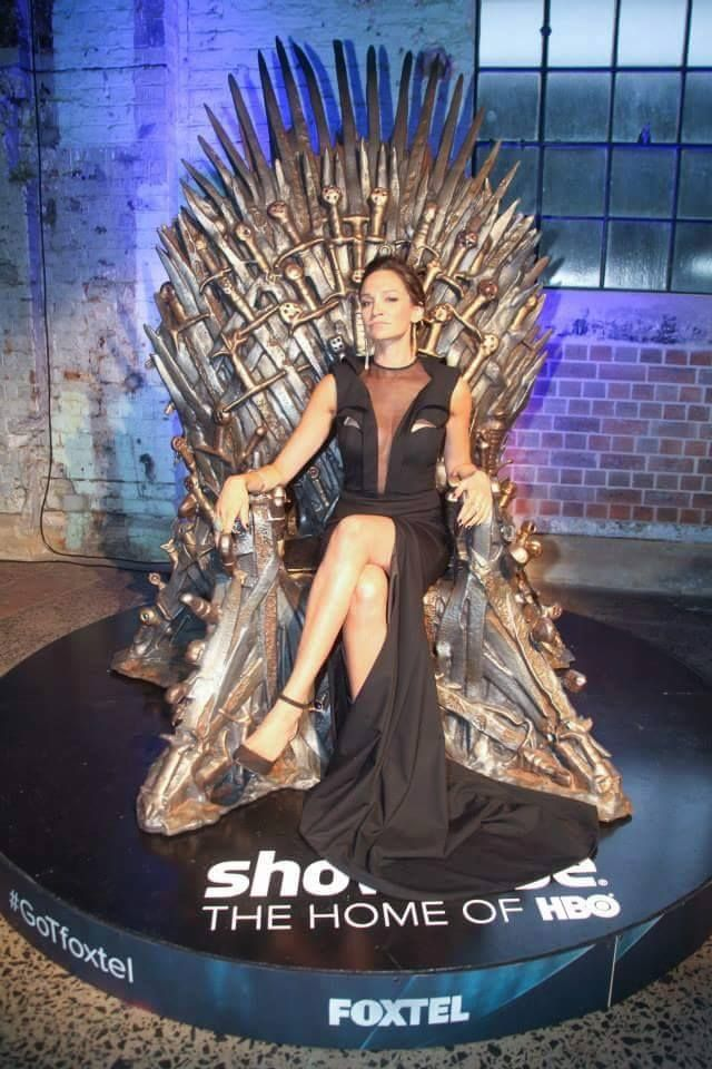 Nicole Da Silva Franky Wentworth. Yes!! She belongs on the iron thrown.