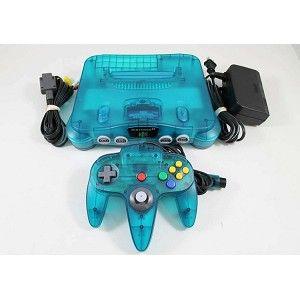 Ice Blue Nintendo 64 System!