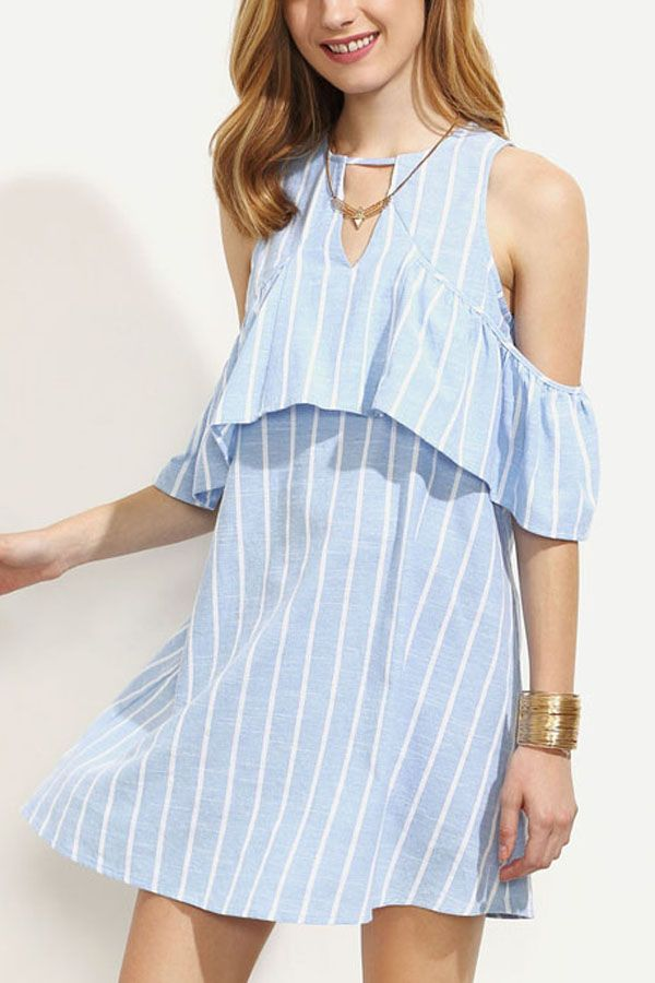 bare shoulder dress #maykool