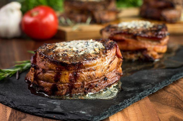Baconwrapped filet mignon charbroil filet mignon