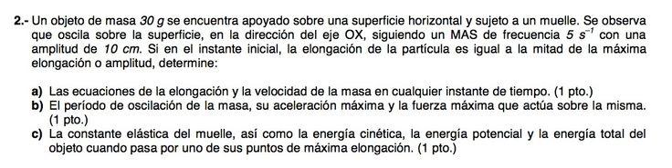 Ejercicio de Movimiento Ondulatorio propuesto en el examen PAU de Canarias de 2011-2012, Junio, Opción B.