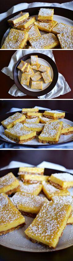 barritas de limon, leche condensada, limon, base de galleta, postre, receta