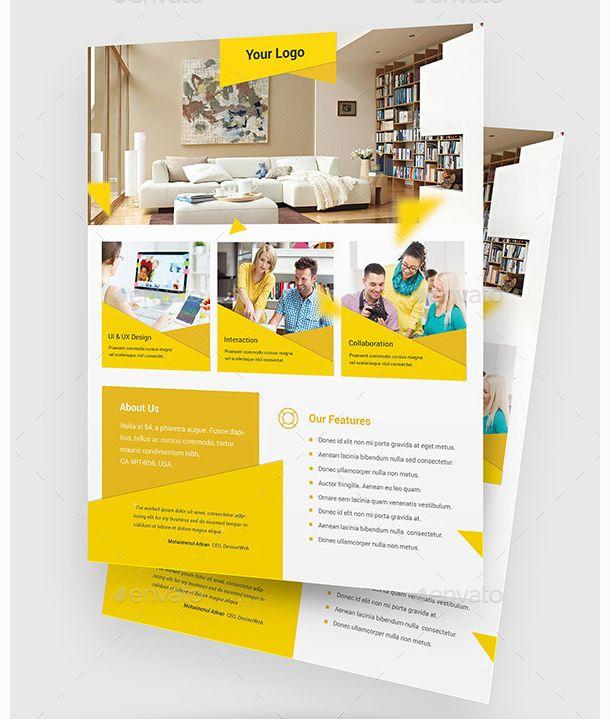 26 Stunning Flyer Design PSDs for Designers